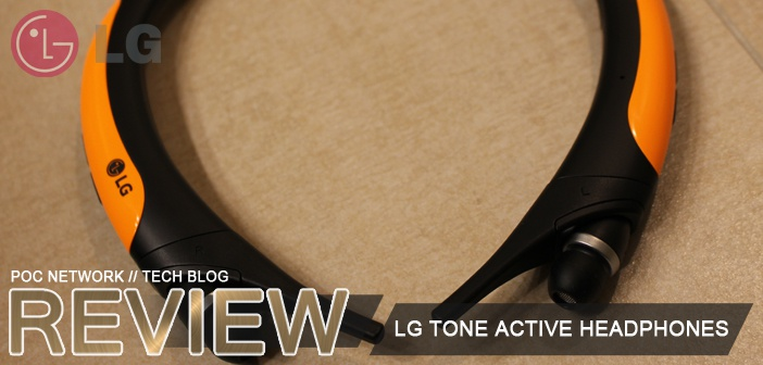 Review: LG TONE Active Bluetooth headphones (HBS-850)