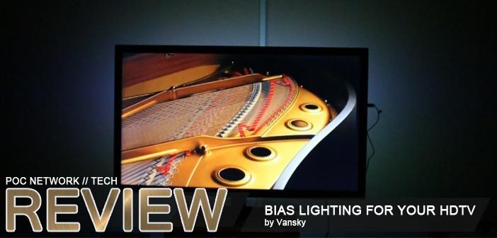 Review: Vansky LED Bias Lighting for HDTVs