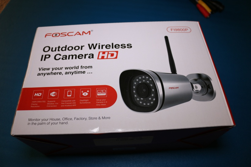 Review: Foscam FI9800P Wirless Outdoor 720p IP Camera | Poc Network // Tech