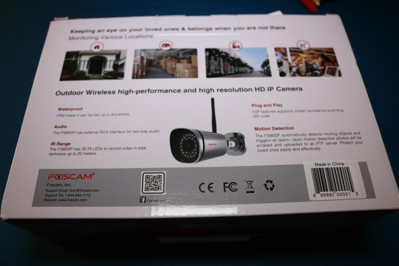 Review: Foscam FI9800P Wirless Outdoor 720p IP Camera | Poc Network // Tech