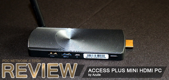 Review: Azulle Access Plus Windows 10 Mini PC Stick