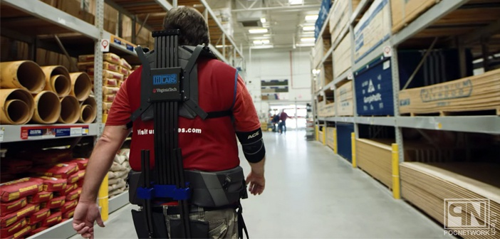 Lowe's begins testing exoskeleton suits in their warehouse