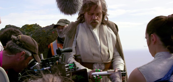 Behind the scenes with Star Wars: The Last Jedi