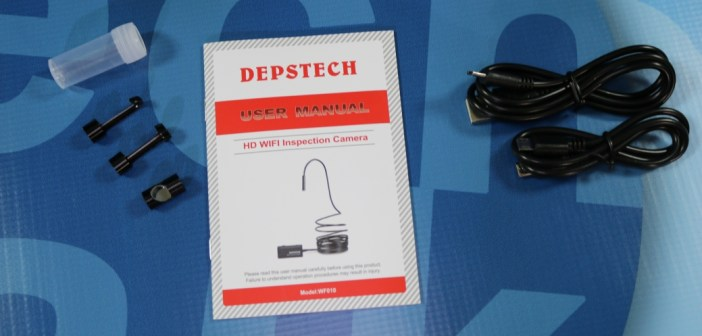 Review: Depstech 2 0MP WiFi Borescope Camera for Android and iOS   Poc  Network // Tech