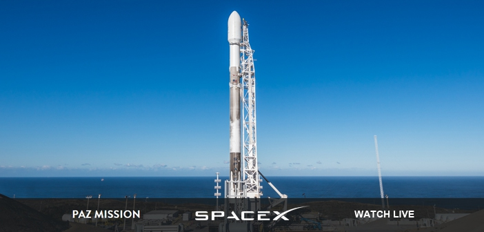 SpaceX PAZ Mission launches this morning, watch it live here