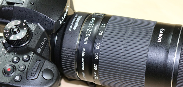 Commlite Canon EF & EF-S Lens to Micro Four Thirds Electronic Lens Adapter  | Poc Network // Tech