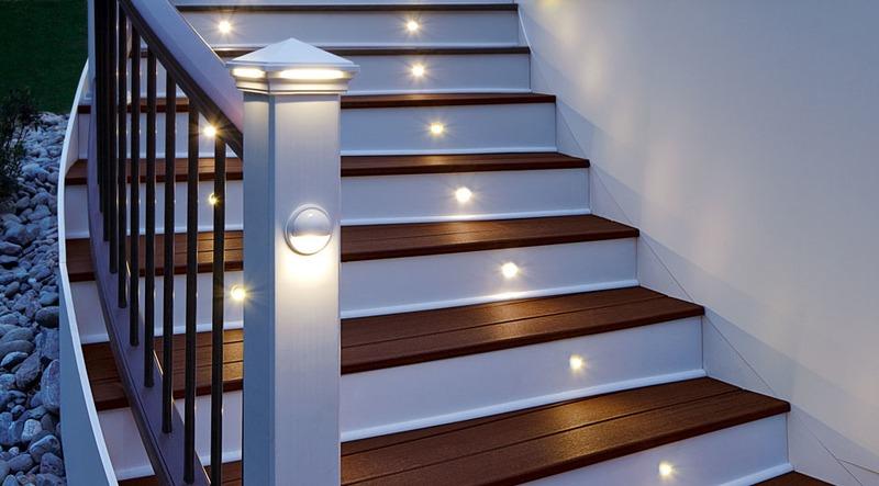 trex deck lighting outdoor lighting