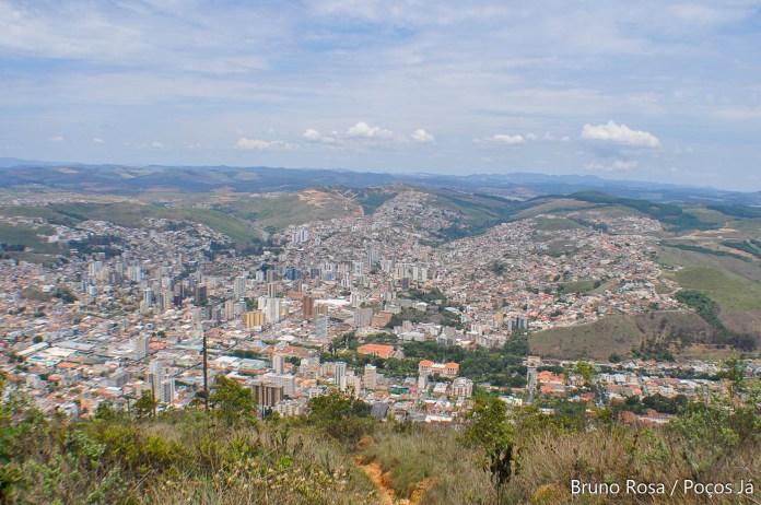 Vista da cidade é uma das atrações no ponto turístico.