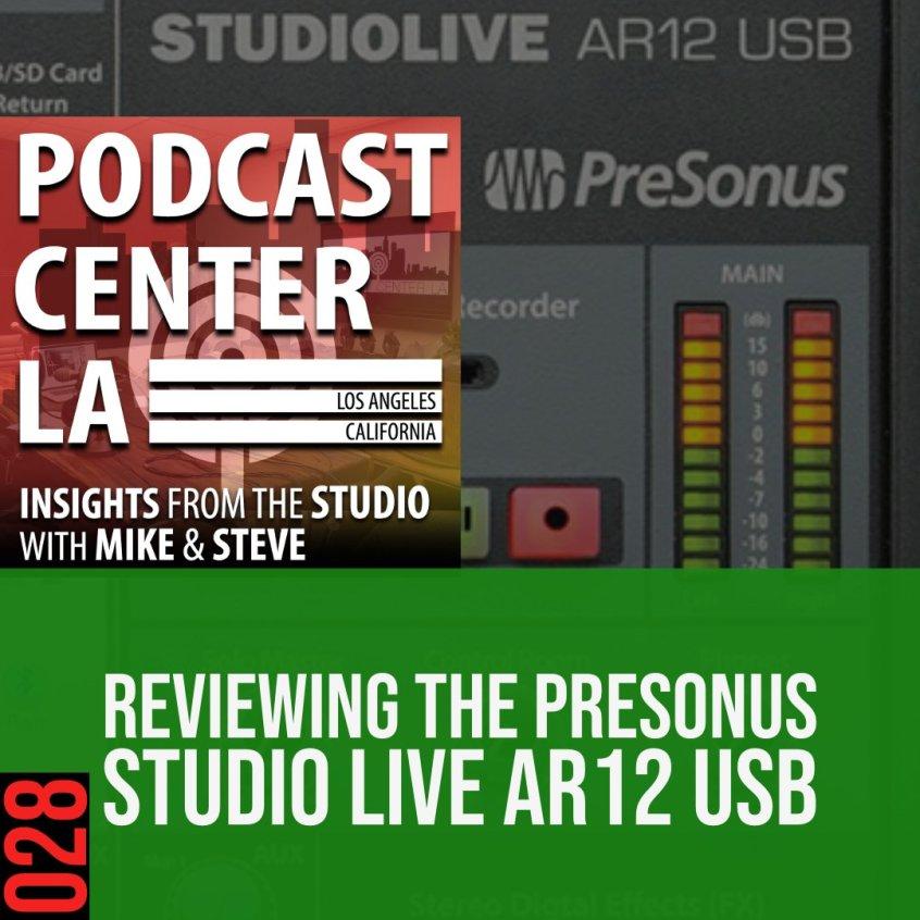 Presonus Studio Live AR-12 USB Review