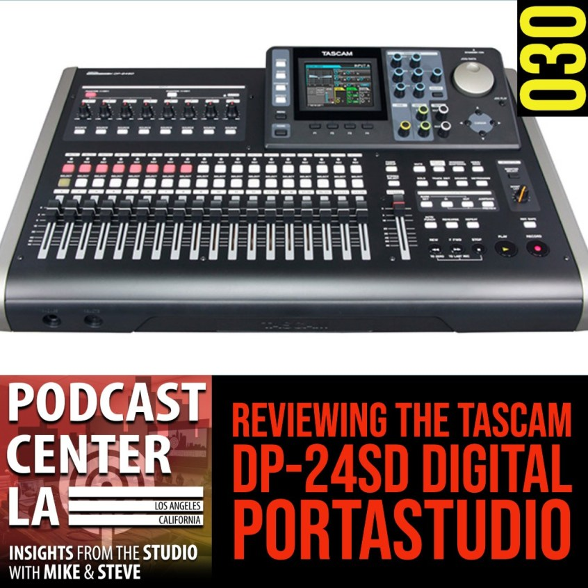 Reviewing the Tascam DP-24SD Digital Portastudio