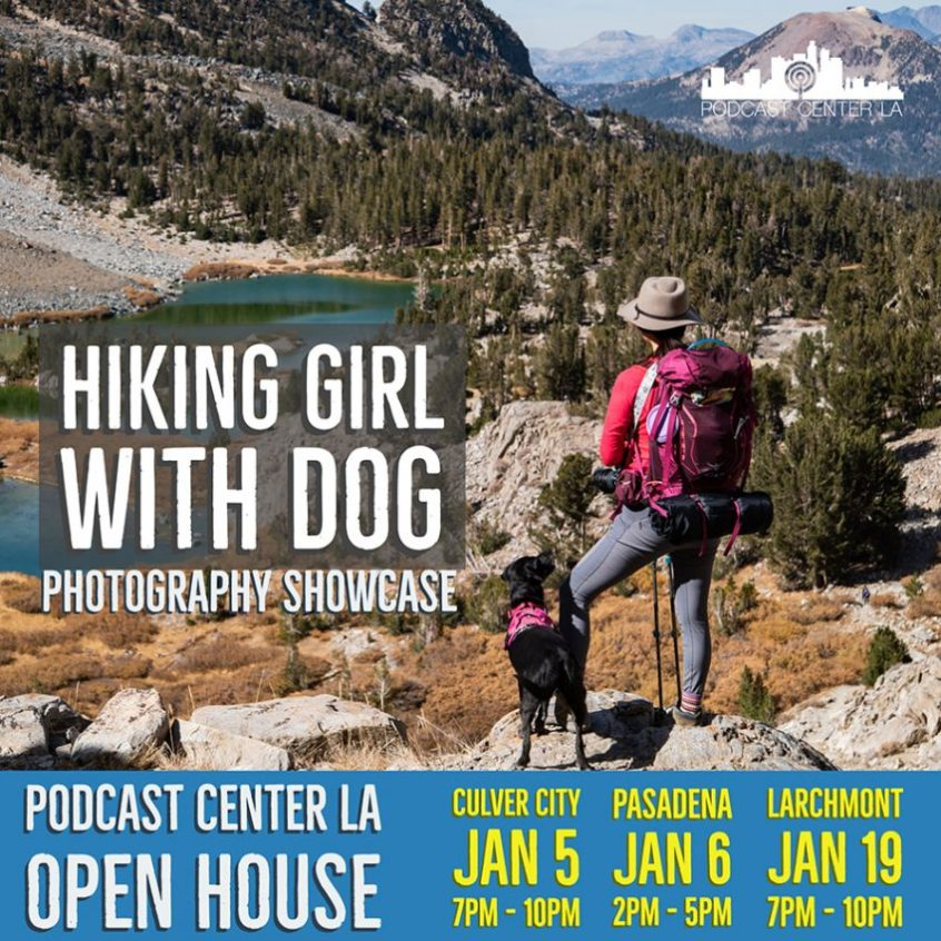 Hiking Girl With Dog Photo Gallery