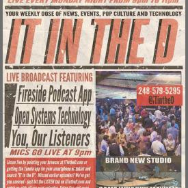 IT In The D – Episode 113 – Fireside Podcast App, NewCo Detroit, Open Systems Technology