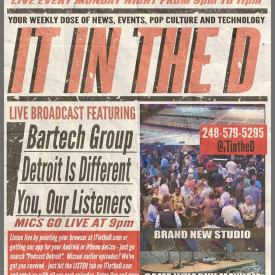 IT In The D – Episode 116 – Fantasticon, Bartech Group, Detroit Is Different
