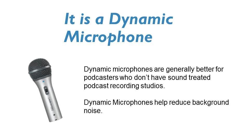 the best dynamic podcast microphone