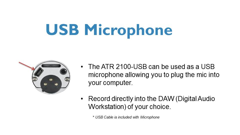 USB Microphone for podcasters