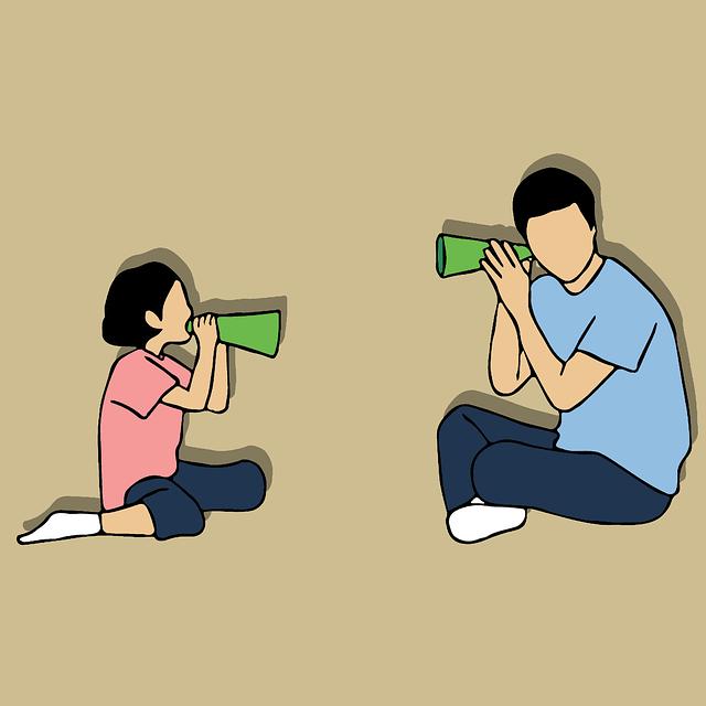 Padre escuchando a Hijo