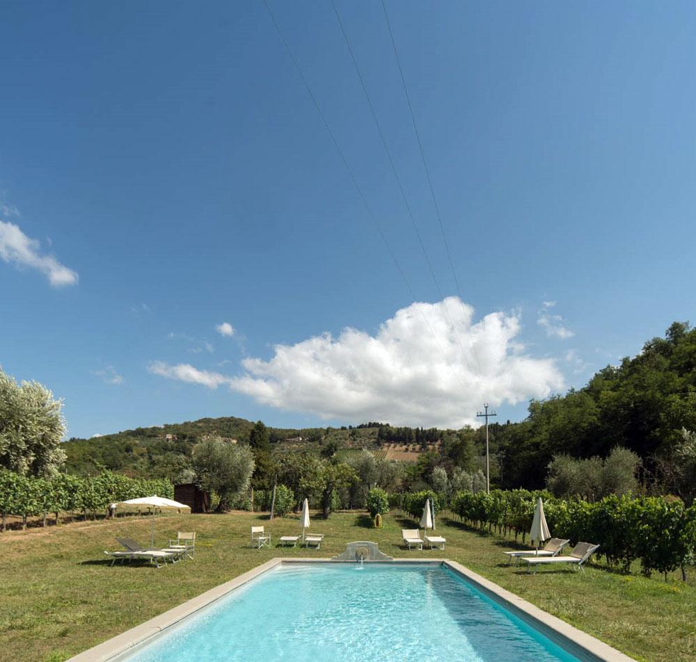 Agriturismo con piscina vicino Firenze  Podere il Poggiolo