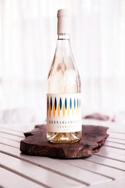 White wine vermentino obizzo Donna Olimpia bolgheri