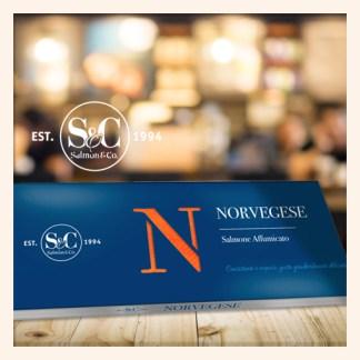 Salmone Norvegese Affumicato 500 gr Podere San Felice