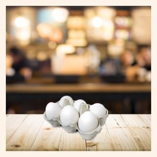 Uova bianche Podere San Felice