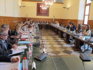 La Audiencia de Granada pone en marcha la comisión de coordinación contra la violencia de género