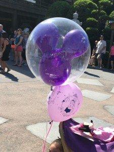 A Mickey Balloon