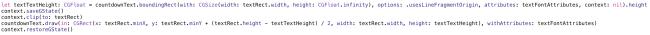 PaintCode code sample