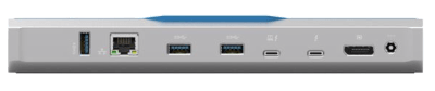 Accell Thunderbolt 3 Dock back connections