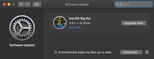 04 software Update after Catalina Safari Updates