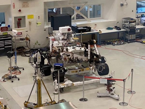 Perseverance at JPL