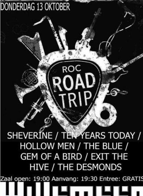 Exit The Hive namens Podiumacademie op ROC Road Trip