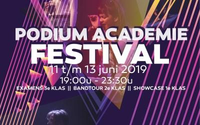 Blokkenschema Podiumacademie Festival