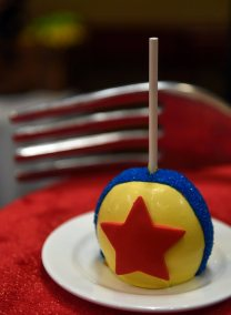 Toy Story-inspired cake pop