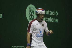 SYlvain Brefel en finale du mondial de pala à Barcelone