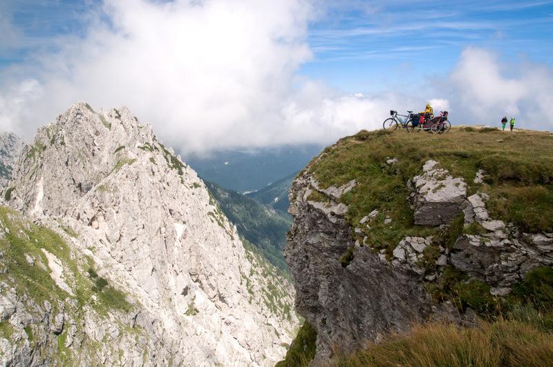Na szosowy dach Słowenii - pod Mangart