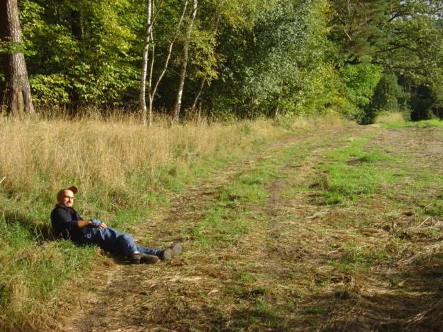Pszczewski Park Krajobrazowy - odpoczynek na łące