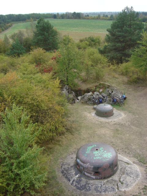 Pszczewski Park Krajobrazowy - Pancerwerki koło Kęszycy (Międzyrzecki Rejon Umocniony)