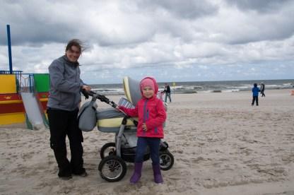 Rodzinnie na plaży