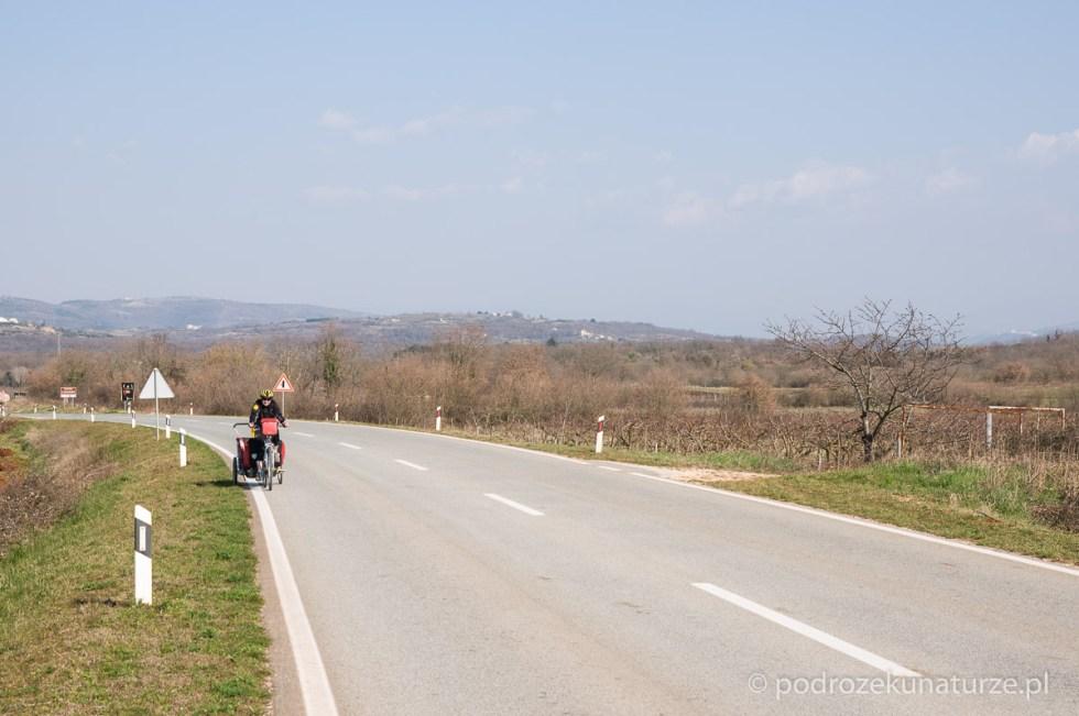 Pustki na drodze do Novigradu