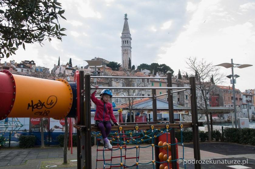 Plac zabaw z widokami