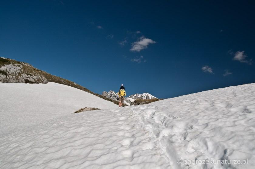 W perspektywie najwyższe szczyty Durmitoru
