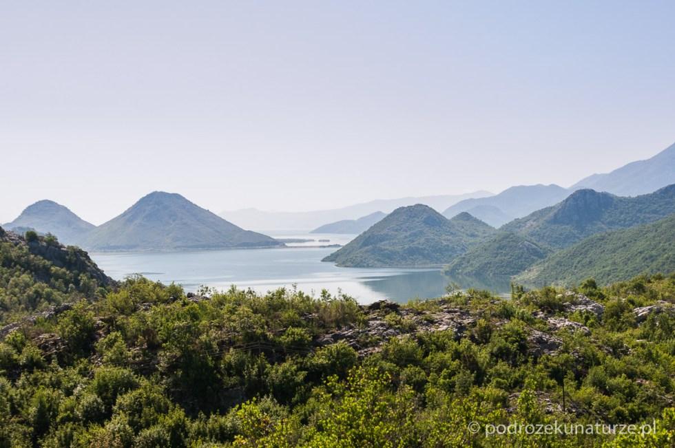 Pierwsze widoki na jezioro Szkoderskie