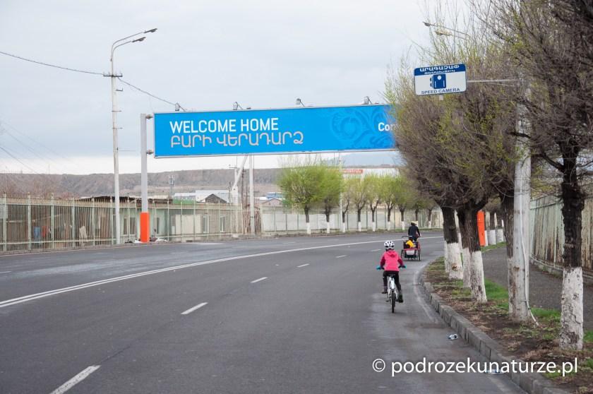 Witaj w domu. Tak przywitała nas Armenia
