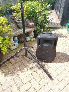 Pods Inflatables speaker hire