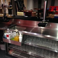 Replace Kitchen Countertop Mats And Rugs Pod Stainless - Womborne Pool Bar ... After (behind The