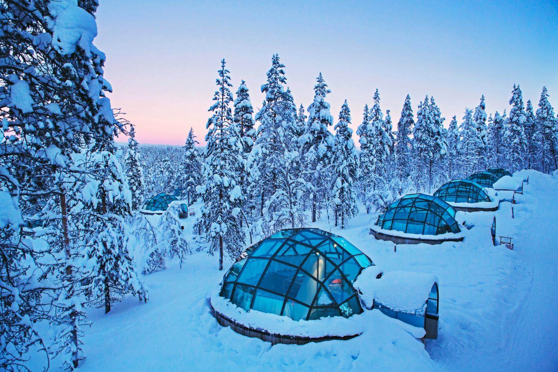 Finland Igloo Watch Northern Lights