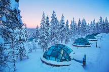 Sleeping Under Stars Kakslauttanen Pod Travels