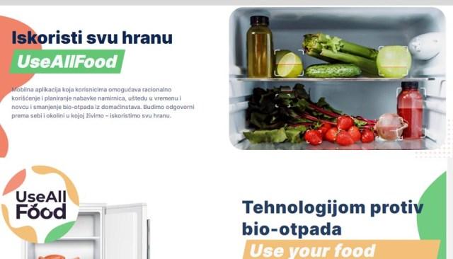 Aplikacija koja vodi računa o roku upotrebe namirnica u frižideru