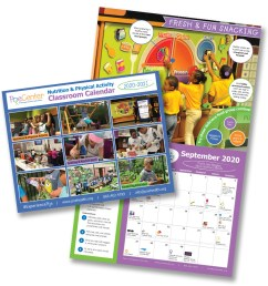 2020-2021 Nutrition \u0026 Physical Activity Classroom Calendar   Poe Center for  Health Education in NC [ 900 x 900 Pixel ]