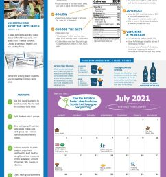 2020-2021 Nutrition \u0026 Physical Activity Classroom Calendar   Poe Center for  Health Education in NC [ 2560 x 1656 Pixel ]